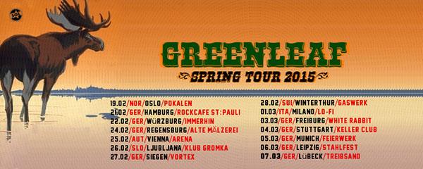 Greenleaf - Tour 2015