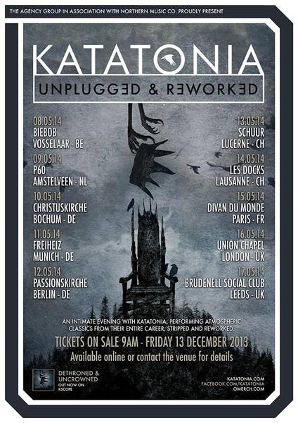 Katatonia - Tour 2014
