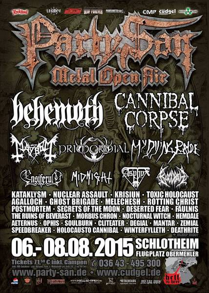 Party.San Metal Open Air - 2015