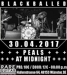 Blackballed - RareGuitar Münster 30.4.2017