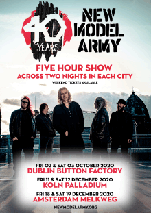 New Model Army - 40 Years - Five Hour Show