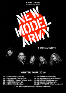 New Model Army - Winter Tour 2016