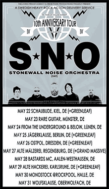 Stonewall Noise Orchestra - 10th Anniversary Tour