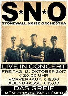 Stonewall Noise Orchestra, Lünen, Zum Greif 2017