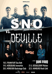 Stonewall Noise Orchestra - Deville - Tour May 2016