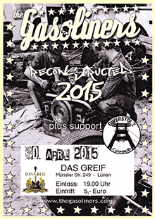 The Gasoliners - Reconstructed 2015 - Greif